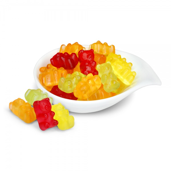Fruits flavoured jellies - bears