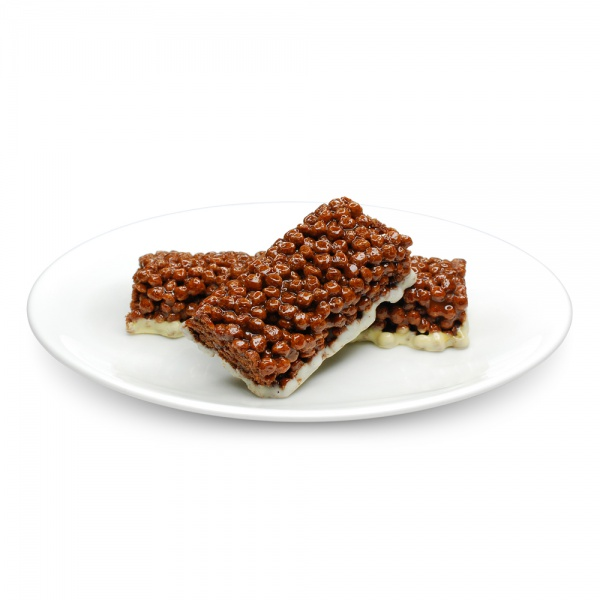 Chocolate Flavour Cereal Bar with Milk Coating