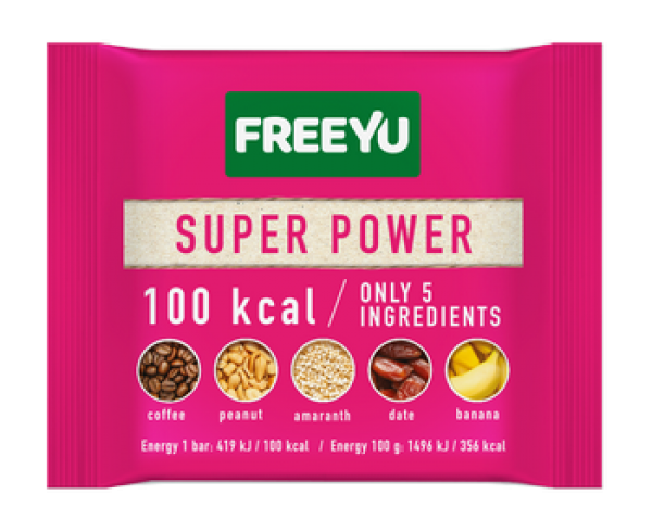 100 kcal Super Power Bar