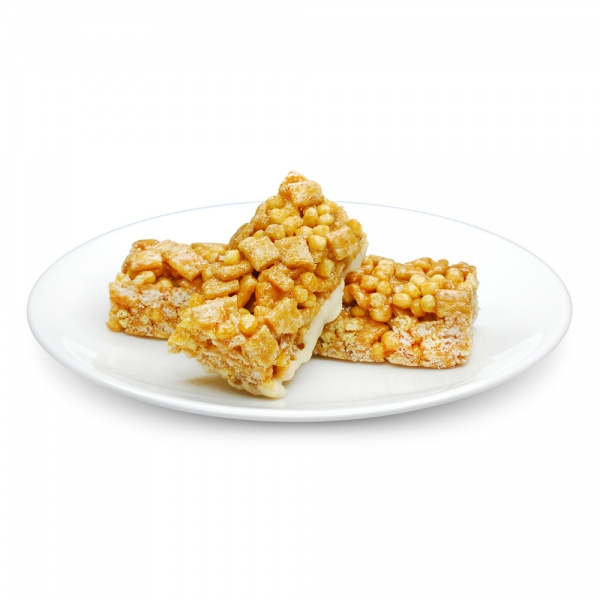 Cinnamon Flavour Cereal Bar with Milk Coating