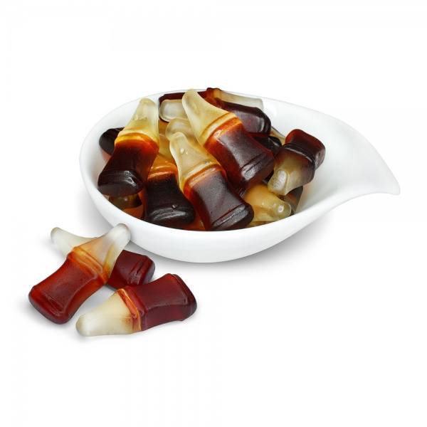 Cola flavoured jellies
